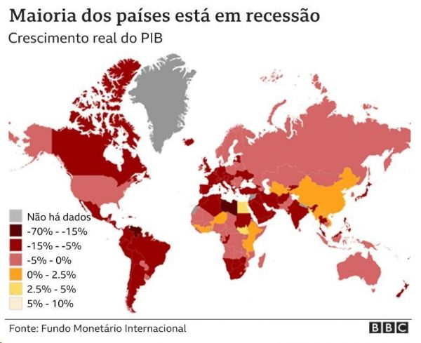 Entenda como a pandemia afetou as maiores economias do mundo